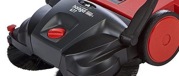 Akku-Kehrmaschine für Sauberkeit im Außenbereich