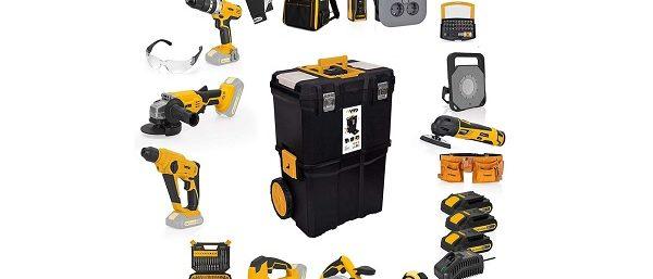 Akku-Werkzeug-Set VITO Professional 20-Volt